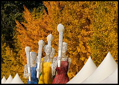 Olympic Park (Rantes) Tags: chiny china olympicgames beijing pekin fall autumn jesien sculpture