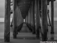 HUNTINGTON BEACH PIER #9-35DBW (bonn_conv) Tags: pier huntington landscape california surfing beach outdoor pch