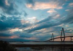 Ravenel Bridge Sunset-35 (King_of_Games) Tags: charleston chs southcarolina sc bridge ravenelbridge arthurraveneljrbridge cooperriverbridge cooperriver longexposure sunset ndfilter neutraldensityfilter
