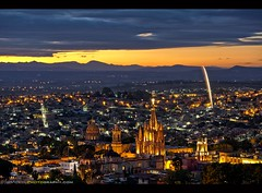 The Beautiful Spanish Colonial City of San Miguel de Allende, Mexico (Sam Antonio Photography) Tags: sanmigueldeallende mexico cityscape travel night fireworks landscape urban architecture church samantoniophotography mexican landmark spiritual historical history miguel san spirituality allende parroquia monument old historic famous archangel cultural culture building basilica jardin guanajuato garden catholicism gothic colorful cathedral catholic christian tourist vacation religious colonial destination holiday tourism buildings attraction latin roofs miramar