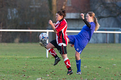 Altrincham LFC vs Stockport County LFC - December 2016-152 (MichaelRipleyPhotography) Tags: altrincham altrinchamfc altrinchamlfc altrinchamladies alty amateur ball community fans football footy header kick ladies ladiesfootball league merseyvalley nwrl nwrldivsion1south nonleague pass pitch referee robins shoot shot soccer stockportcountylfc stockportcountyladies supporters tackle team womensfootball