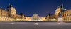Louvre Palace Napoleon Courtyard (blieusong) Tags: france hugin ieohmingpei nightphotography panorama paris pyramidedulouvre cournapoléon muséedulouvre îledefrance