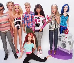 My New Dolls (Blog Ken Doll) Tags: 2016 2015 2011 2008 2007 2006 barbie chat divas rockn royals zia doll teresa fashion fever 100 dolls she said yes ken ryan fashionistas made to move red hair blue top giftset playset