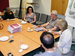Kashmir Conflict Visit to Derry Ireland July 2014 (seanfderry-studenna) Tags: kashmir kashmiri visitors conflict resolution pakistan india pakistani indian men women male female people persons derry londonderry ireland irish eire talks visits students factfinding politics political community representatives round table discussion