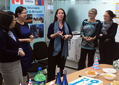 WUSC-Mongolia celebrates it's first anniversary