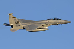 86-0178_F-15CEagle_USAirForce_LKH_Img02 (Tony Osborne - Rotorfocus) Tags: boeing mcdonnell douglas f15 f15c eagle united states air force europe raf lakenheath kingdom 2016