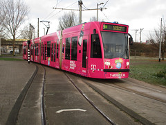 GVBA tram 2088 Diemen Sniep lijn 9 (Arthur-A) Tags: gvb gvba amsterdam tmobile diemen nederland netherlands tram tramway strassenbahn streetcar electrico tranvia tramvia pink roze gay