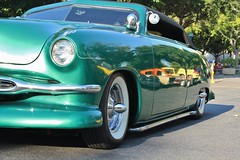 Lake Avenue Church Classic Car Nights 8/26/16 (USautos98) Tags: 1951 ford shoebox leadsled hotrod streetrod kustom convertible