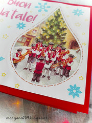 XmasCard2016_006w (Morgana209) Tags: christmas natale natale2016 card biglietti auguri albero fiocchidineve scrap silhouette curio plotter taglio handmade fattoamano creatività