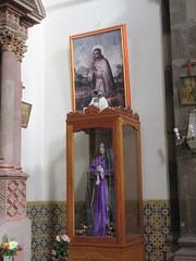 Virgin and saint, Templo de Nuestra Seora de La Salud, San Miguel de Allende, Mexico (Paul McClure DC) Tags: sanmigueldeallende mexico bajo guanajuato nov2016 church historic sculpture