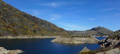 A LITTLE WATER SCENERY. (goldiesguy) Tags: goldiesguy scenery water lakeside summerscene winterscene outdoors mountainside landscape rocks