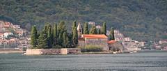 Islet of St George, Perast Montenegro (Lark Ascending) Tags: svetidorde montenegro balkans islet island church bayofkotor fjord ria cypresses stgeorge