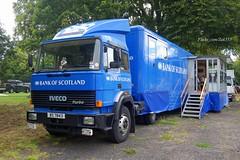 (Zak355) Tags: rothesay isleofbute bute scotland scottish iveco truck lorry bankofscotland bos mobilebank turbo bs7843
