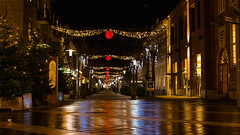 Christmas lights (Rind Photo) Tags: longexposure frederikshavn lights christmas street denmark nordjylland