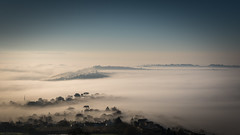 Above the Miss (jonathan at http://www.devoneventphotography.com/) Tags: fog mist clouds teignmouth nikon tamon sunrise sea river