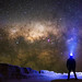 Milky Way Self Portrait - Pinnacles Desert, Western Australia
