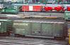 CB&Q Class XML-4 24856 (Chuck Zeiler) Tags: cbq class xml4 24856 burlington railroad box car boxcar freight cicero chz bn sw7 121