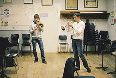 (Julien Chambon) Tags: friends music film repetition trombone brass argentique bugle flugelhorn moupoteshow mptshw