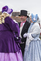 DA12421 (Destinys Agent) Tags: beach up festival costume seaside dress victorian charles dickens broadstairs dickensian