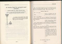 "German Railway Signals - Page 65 (Mark Vogel) Tags: railroad train eisenbahn railway db german signal signaux chemindefer signale rulebook ""german bahn"" ""deutsche eisenbahnsignal railways"" operatingrules signalchart signaldiagram signalaspects signalbuch"