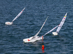 Racing Incident (fstop186) Tags: sea lake speed radio movement sailing action over racing boating laser sail strong mast yachts rough capture incident winds turning buoy controlled gosport billowing walpolepark keeling buoyant canonef24105mmf4lisusm rclaser sidewind canon7d gosportmodelyachtandboatclub cocklepond
