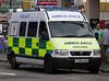 British Red Cross Vauxhall Movano Emergency Ambulance RL011 (PFB-999) Tags: carnival red cross ambulance brc vehicle british van emergency cleethorpes grilles vauxhall unit strobes lightbars rotators movano y309oab rl011