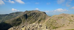 Scafell Pike - Scafell Pike From Ill Crag (ricklus) Tags: park uk england lake mountains walking landscape nikon britain hiking district national cumbria scafell pike treck ricklus d5100