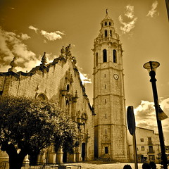 Esglsia de Sant Joan Baptista (Church of Saint John the Baptist) (MickyFlick) Tags: history architecture spain olympus architectural historic historical baroque touristattraction churchofstjohnthebaptist alcaldexivert valenciancommunity esglsiadesantjoanbaptista mickyflick castellonprovince
