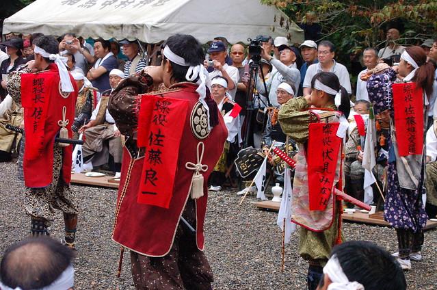 相馬野馬追 御発輦祭(相馬中村神社) Soma-Nomaoi Festival 2013