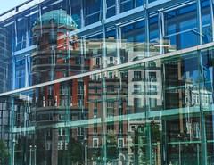 New - Newer (campra) Tags: reflection facade mirror spain bilbao espana museo artes bellas