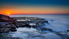 Turnimetta Beach (James Yu Photography) Tags: sunset night australia clear newsouthwales warriewood