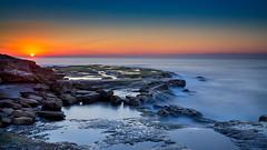 Turnimetta Beach (James Yu Photography) Tags: sunset night australia clear newsouthwales warriewood 詹姆斯视界