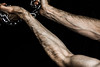(Hilary Reedgoes) Tags: chains arms body relationship veins humanbeing restrain dialettica