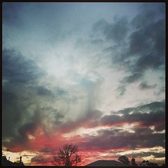 Sunset Over Horsham (florahaggis) Tags: sunset clouds sunrise square australia victoria squareformat storms horsham pc3400 iphoneography instagram instagramapp uploaded:by=instagram samsunggalaxys3 foursquare:venue=4cbc046e7148f04d4860e5ab