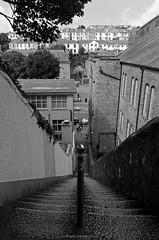 Jacob's Ladder the steep part (Just Ard) Tags: blackandwhite bw blackwhite nikon cornwall steps falmouth jacobsladder d7000 nikond7000 justard