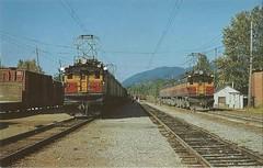 Milwaukee Road (tico_manudo) Tags: ferrocarriles railways usa vintage postalesantiguas trenes milwaukee milwaukeeroad locomotives fredmattheus
