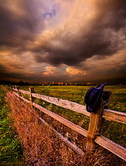 His Thoughts Were His Only Companions (Phil~Koch) Tags: morning flowers blue autumn winter sunset red portrait orange sun snow storm flower green fall love ice nature floral field hat leaves rain yellow vertical wisconsin clouds sunrise fence season photography landscapes office spring twilight cowboy peace wind earth farm horizon scenic meadow inspired naturallight farmland photograph environment serene wildflowers agriculture inspirational nationalgeographic horizons summerspring philkoch