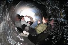 'Social Media' (Canadapt) Tags: street parque people urban portugal lisbon tube pipe teens canadapt