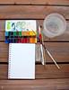 Mornings on the deck 2 :) (EZENAMI | KAI | ZAN57) Tags: watercolor paint box artsupplies sketchkit