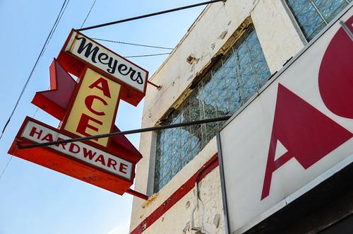 Sunset Cafe/Meyer's Ace Hardware