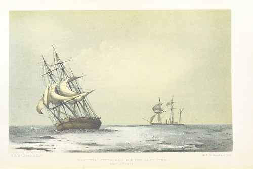"""Image taken from page 394 of 'The eventful voyage of H.M. Discovery Ship """"Resolute"""" to the Arctic Regions in search of Sir J. Franklin. ... To which is added an account of her being fallen in with by an American Whaler after her abandonment ... and of her"""