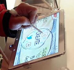 Close Up Samsung Galaxy Tab 10.1