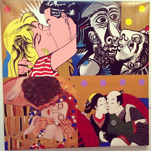 """""""Del tiempo y el amor"""" • """"El Diálogo, el Pastiche y la Memoria"""" #muestra individual de Ramiro Pareja Herrera #arte #arteenlima #art #artinlima #artist #artista #pintura #painting"""
