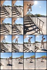 NollieBoardslide (gary ottonello) Tags: frames nikon skateboarding action d 8 fisheye second gary nikkor 16mm per 8fps 28 d700 ottonello