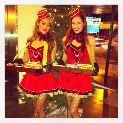 The Holiday Spirit is in the air in the OC! #events #oc #promo #servers #models #candy #sweets #200proofla #200proof