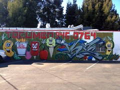 Cold Front (misterbigidea) Tags: street urban cold art sign wall fruit landscape dessert happy frozen yummy artwork mural sweet cone painted cartoon scenic neighborhood business explore delicious icecream treat stockton popsicle calories tocumbo mangonada uploaded:by=flickrmobile flickriosapp:filter=nofilter vision:text=0513 vision:car=0818 vision:outdoor=0897