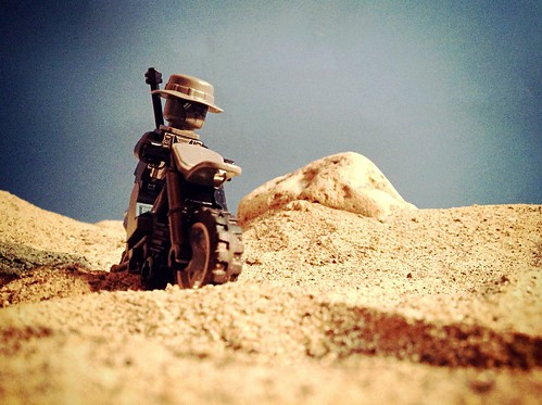 On the run in a desert, the Snipper had a successful mission... (34607320@N04), photography tags:  legography uploaded:by=flickrmobile denimfilter flickriosapp:filter=denim vision:outdoor=0906