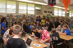 Hour of Code at Hale Kula Elementary School