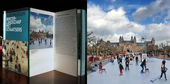 Rijksmuseum - Winter landscape with skaters (Bn) Tags: city travel blue winter holiday cold holland ice hockey netherlands amsterdam weather museum kids pancakes children fun soup book museumplein boek chair published iamsterdam legs body iceskating air capital skating center canals entertainment national enjoy skate mind rink puck wonderland topf100 rijksmuseum stretching ijsbaan pleasure delightful skatingrink museumquarter refresh museumsquare ijspret hendrick koek hollandse 100faves gekte publised avercamp zopie uitgave iceamsterdam winterlandschapmetschaatsers winterlandscapewithskaters httpwwwiceamsterdamnl rijksmuseumshop