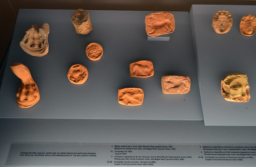 Hellenistic molds, seals, and impressions from the area of Aiani 1